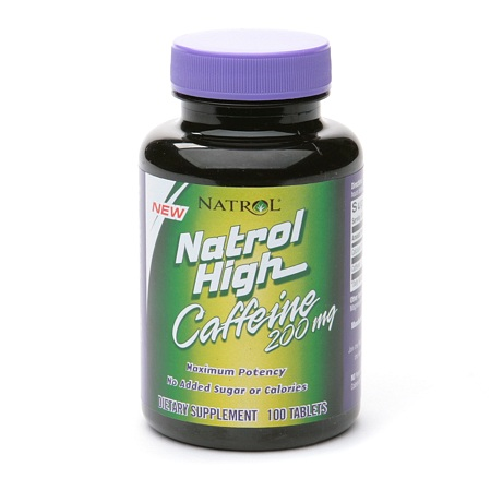 Natrol High Caffeine 200 mg - 100 ea