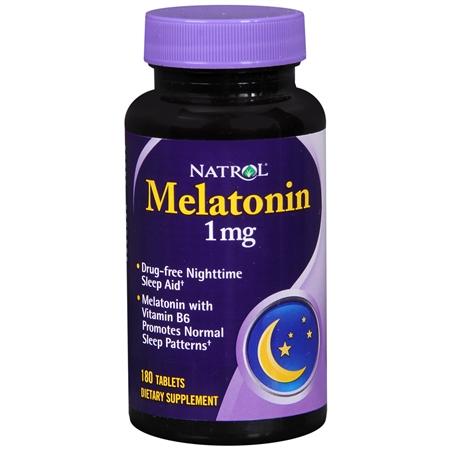 Natrol Melatonin 1 mg - 180 ea