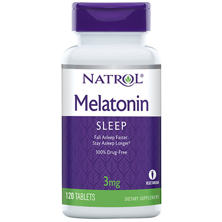 Natrol Melatonin 3 mg - 120 ea