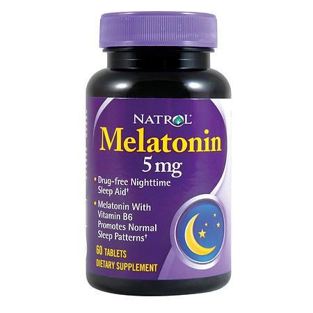 Natrol Melatonin 5 mg - 60 ea