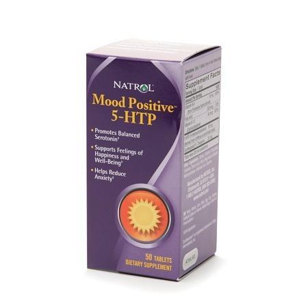 Natrol Mood Positive 5-HTP Dietary Supplement Tablets - 50 ea