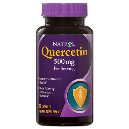 Natrol Quercetin Complex Immune Health 500mg Capsules - 50 ea
