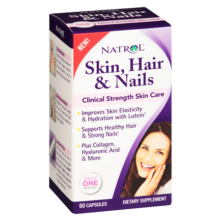 Natrol Skin, Hair And Nails - 60 ea