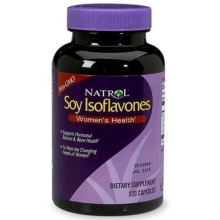 Natrol Soy Isoflavones - 120 ea