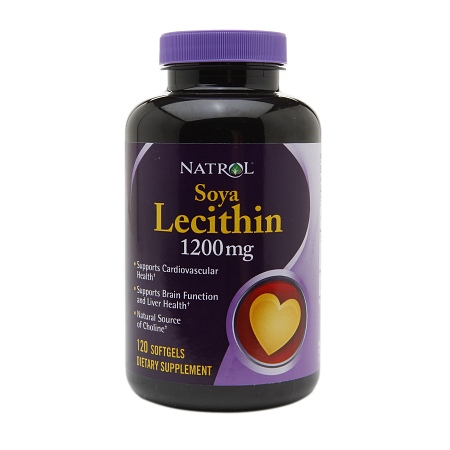 Natrol Soya Lecithin 1200mg, Softgels - 120 ea