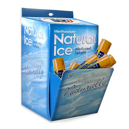 Natural Ice Medicated Lip Protectant Sport Sunscreen, SPF 30, Multi-Pack - 48 ea