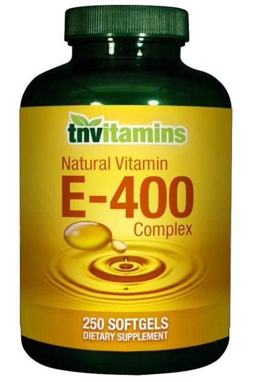 Natural Vitamin E 400 Complex