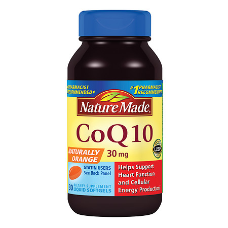 Nature Made CoQ10, 30mg, Softgels - 30 ea