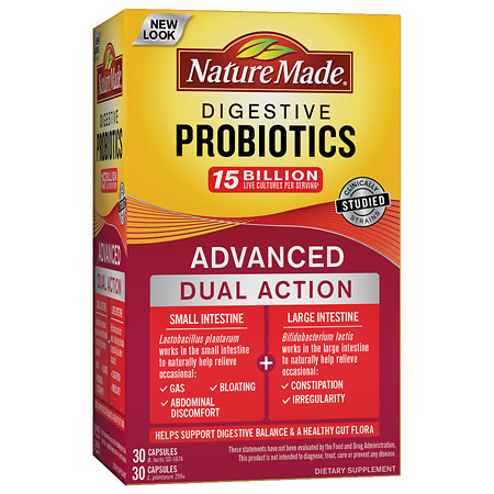 Nature Made Digestive Probiotics Advanced - 30 ea