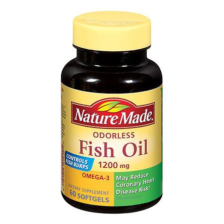 Nature Made Fish Oil 1200 mg - 60 ea