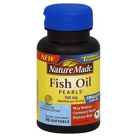 Nature Made Fish Oil Pearls - 90 ea