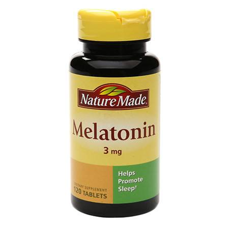 Nature Made Melatonin, 3mg, Tablets - 120 ea