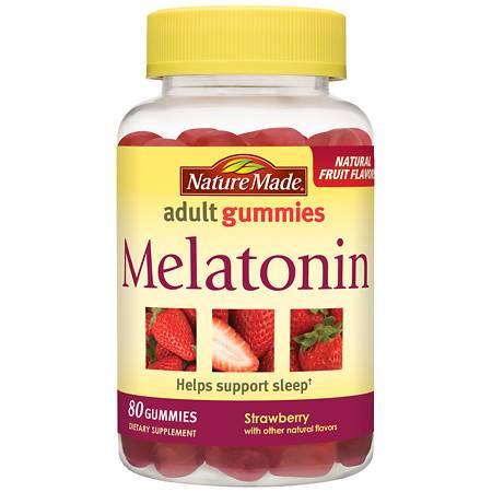 Nature Made Melatonin Gummies Strawberry - 80 ea
