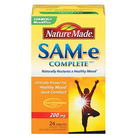 Nature Made SAM-e Complete, 200mg, Tablets - 24 ea