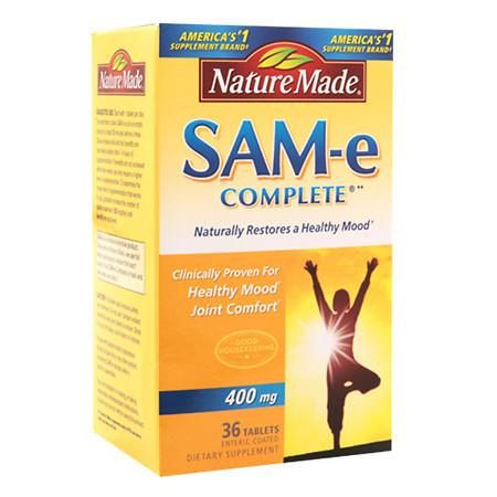 Nature Made SAM-e Complete 400 mg Dietary Supplement Tablets - 36 ea