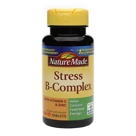 Nature Made Stress B-Complex Dietary Supplement Tablets - 75 ea
