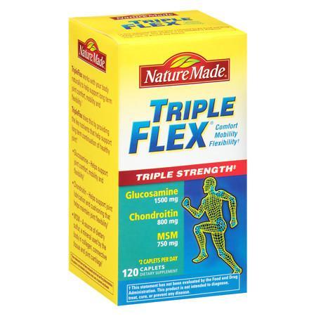 Nature Made TripleFlex, Triple Strength Caplets - 120 ea