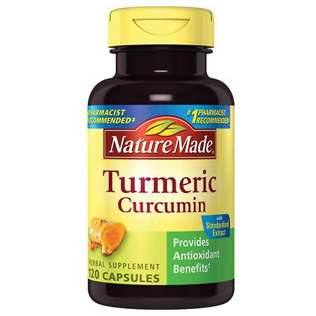 Nature Made Turmeric Capsules - 120 ea