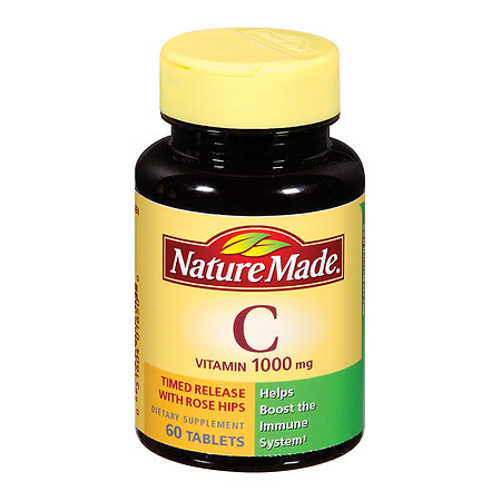 Nature Made Vitamin C 1000 mg Dietary Supplement Tablets - 60 ea