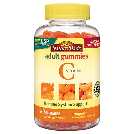 Nature Made Vitamin C Adult Gummies Tangerine - 80 ea