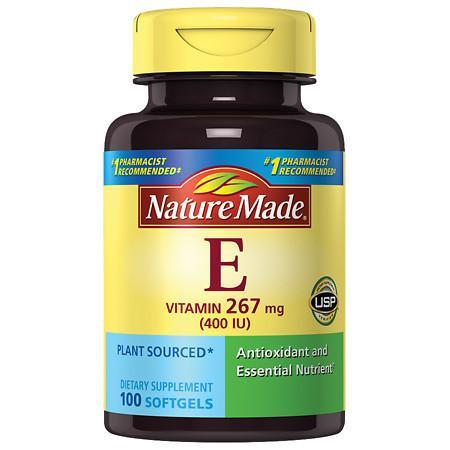 Nature Made Vitamin E 400 I.U. - 100 ea