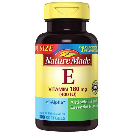 Nature Made dl-Alpha Vitamin E 400 IU - 300 ea