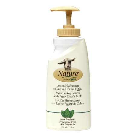 Nature by Canus Moisturizing Lotion with Fresh Goat's Milk Fragrance Free - 11.8 oz.