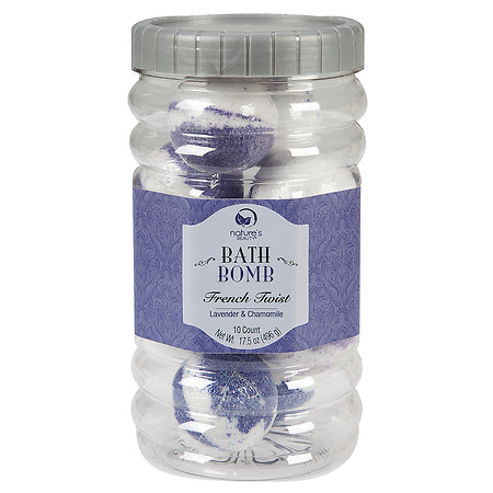 Nature's Beauty French Twist Bath Bombs - 2 oz.