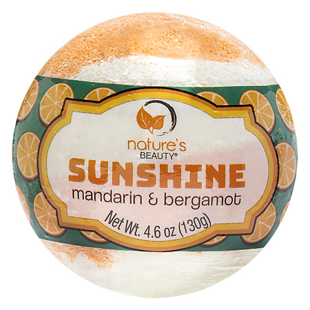Nature's Beauty Sunshine Bath Bomb - 5 oz.
