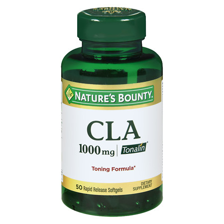 Nature's Bounty CLA 1000 mg Dietary Supplement Softgels - 50 ea