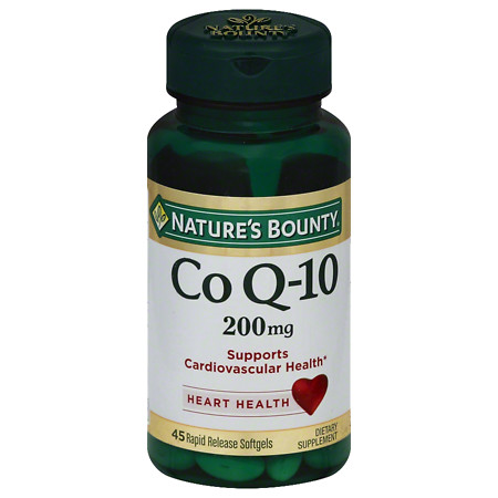 Nature's Bounty Co Q-10 200 mg Dietary Supplement Softgels - 30 ea