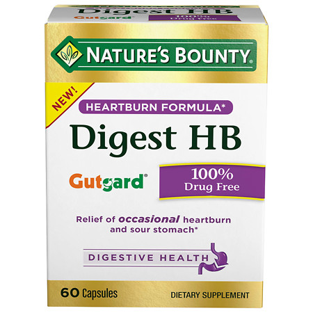 Nature's Bounty Digest HB Supplements - 60 ea
