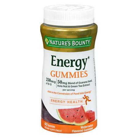 Nature's Bounty Energy Complex Gummies - 60 ea