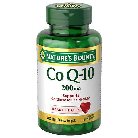 Nature's Bounty Extra Strength Co Q-10 200 mg Rapid Release Liquid Softgels - 75 ea