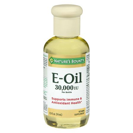 Nature's Bounty Natural Vitamin E-Oil Dietary Supplement - 2.5 oz.