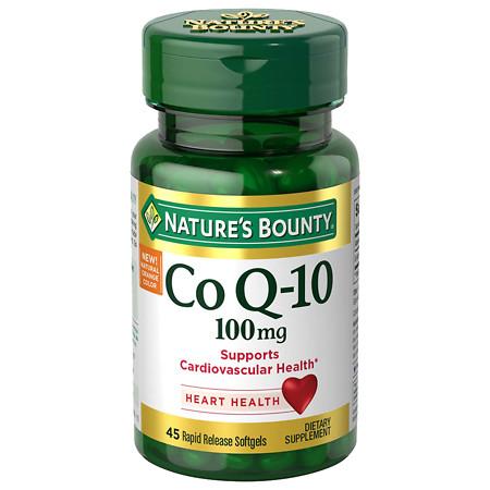 Nature's Bounty Q-Sorb CoQ10 100mg Softgels - 30 ea