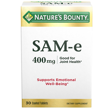Nature's Bounty SAM-e 400mg, Super Strength, Tablets - 30 ea