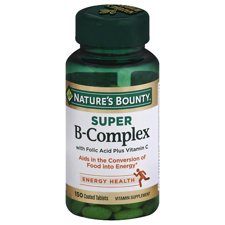 Nature's Bounty Super B Complex +C - 100 ea