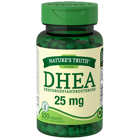 Nature's Truth DHEA Dehydroepiandrosterone 25mg - 100 ea