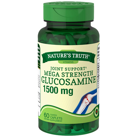Nature's Truth Joint Support Mega Strength Glucosamine 1500mg - 60 ea