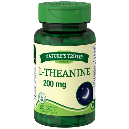 Nature's Truth L-Theanine 200mg - 60 ea