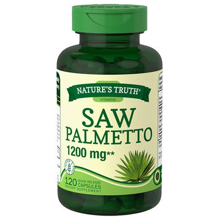 Nature's Truth Saw Palmetto 1200mg - 120 ea