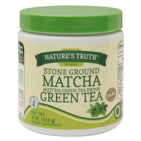 Nature's Truth Stone Ground Matcha Green Tea - 4 oz.