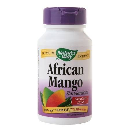 Nature's Way African Mango, Standardized, Veggie Caps - 60 ea