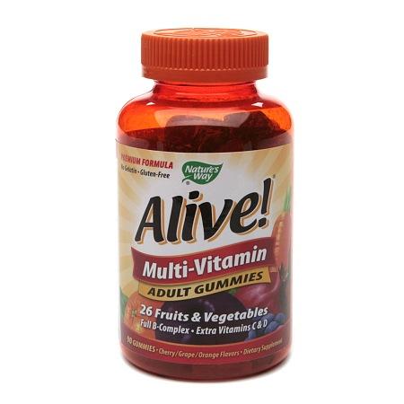 Nature's Way Alive! Adult Multivitamin Gummies - 90 ea
