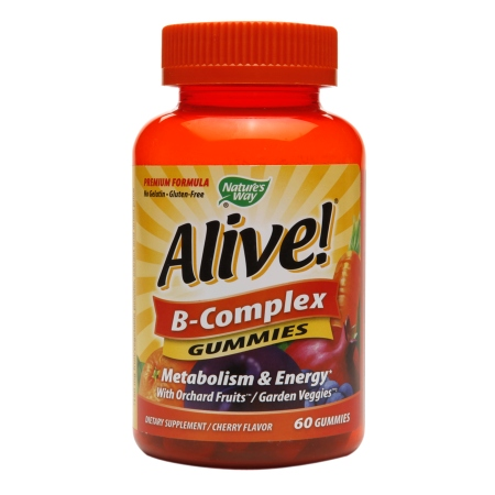 Nature's Way Alive! B-Complex Gummies - 60 ea