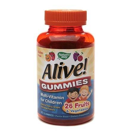 Nature's Way Alive! Children's Multivitamin, Gummies - 90 ea