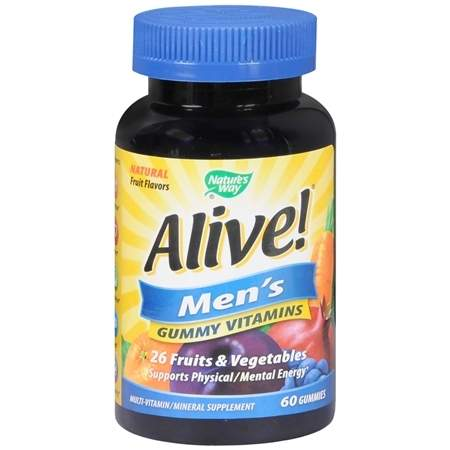 Nature's Way Alive! Men's Gummies Vitamins Fruit - 60 ea