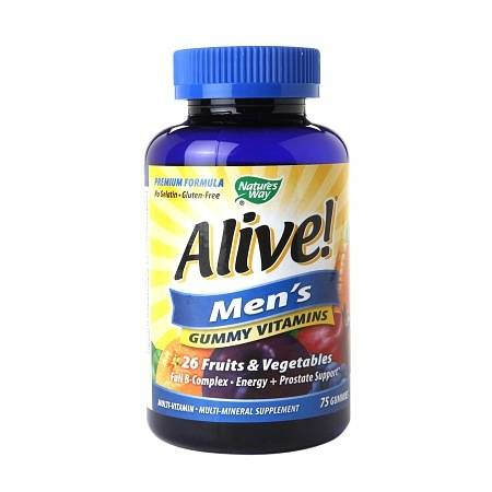 Nature's Way Alive! Men's Gummy Multivitamin - 75 ea