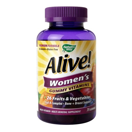Nature's Way Alive! Women's Gummy Multivitamin - 75 ea